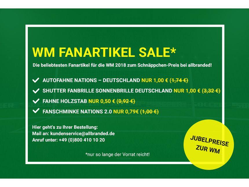 WM Werbeartikel Sale | © allbranded Design