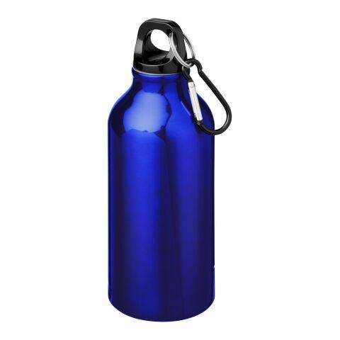 Oregon 400 ml Trinkflasche mit Karabiner blau | ohne Werbeanbringung | Nicht verfügbar | Nicht verfügbar