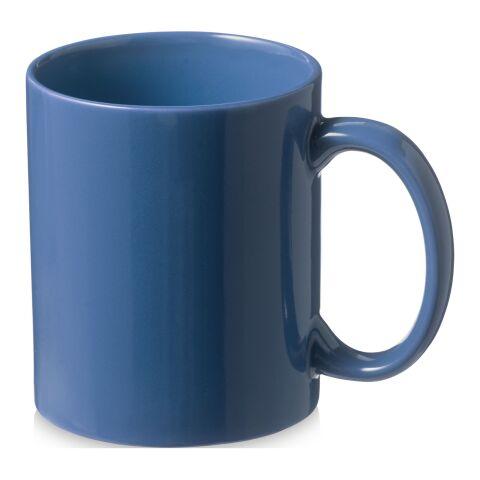 Santos 330 ml Keramiktasse Standard | blau | ohne Werbeanbringung | Nicht verfügbar | Nicht verfügbar
