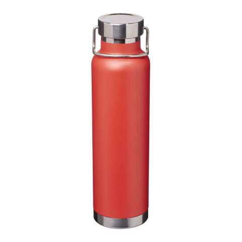 Thor Kupfer-Vakuum Isolierflasche Standard | rot | ohne Werbeanbringung | Nicht verfügbar | Nicht verfügbar