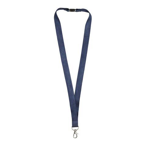 Bambus-Schlüsselband mit Sicherheitsclip Julian marineblau | ohne Werbeanbringung | Nicht verfügbar | Nicht verfügbar | Nicht verfügbar