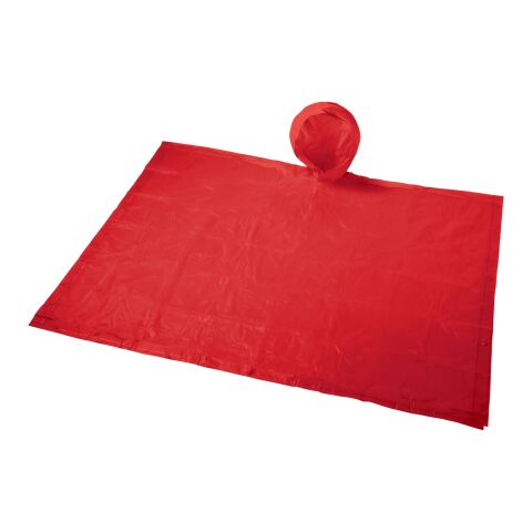 Paulus faltbarer Poncho im Beutel rot   ohne Werbeanbringung   Nicht verfügbar   Nicht verfügbar
