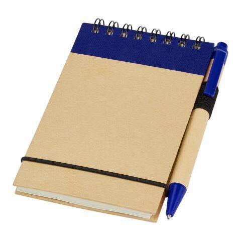 Zuse A7 Spiral Notizblock mit Stift Standard | natur-marineblau | ohne Werbeanbringung | Nicht verfügbar | Nicht verfügbar | Nicht verfügbar