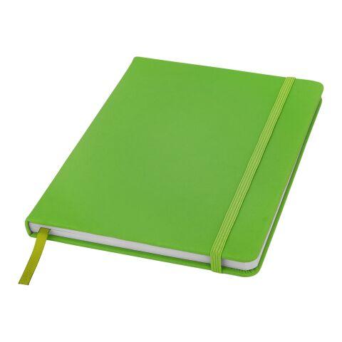 Spectrum A5 Notizbuch - liniert Standard | Lindgrün | ohne Werbeanbringung | Nicht verfügbar | Nicht verfügbar | Nicht verfügbar