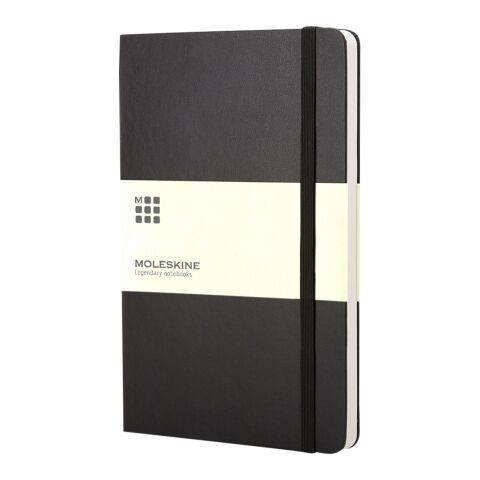Moleskine Classic Hardcover Notizbuch Taschenformat – blanko schwarz | 4C-Digitaldruck | Papierband | 330 mm x 55 mm