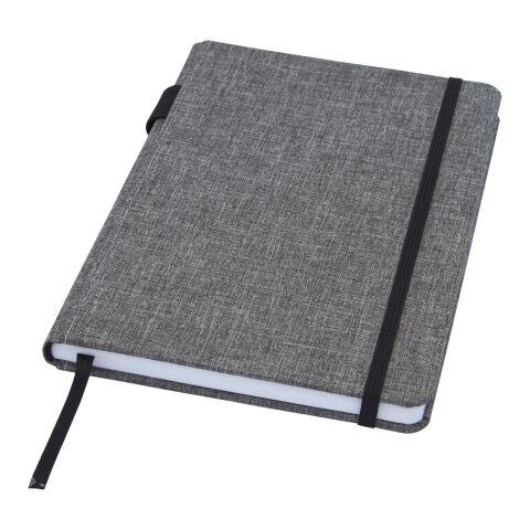 Orin A5 Notizbuch aus RPET mausgrau | ohne Werbeanbringung | Nicht verfügbar | Nicht verfügbar