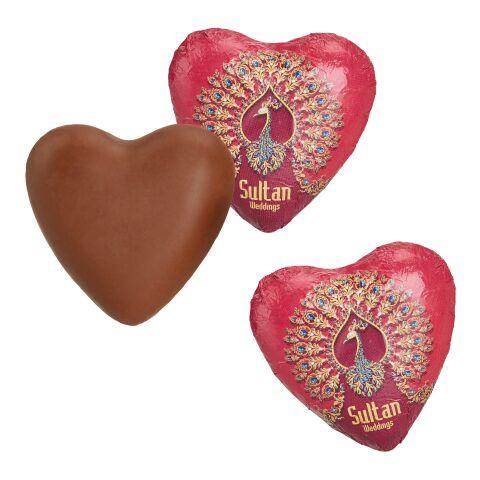 Schokoladenherz weiß | ohne Werbeanbringung