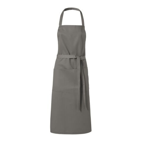 Viera apron - light grey