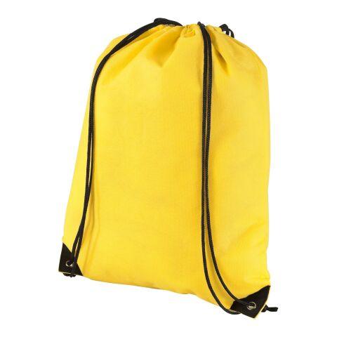 Evergreen Premium Non Woven Sportbeutel Standard | gelb | ohne Werbeanbringung | Nicht verfügbar | Nicht verfügbar | Nicht verfügbar