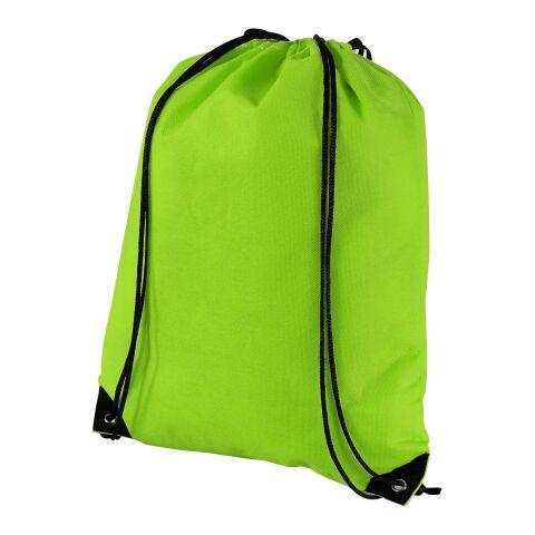 Evergreen Premium Non Woven Sportbeutel Standard   apfelgrün   ohne Werbeanbringung   Nicht verfügbar   Nicht verfügbar