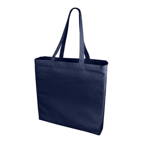 Odessa Baumwoll Tragetasche marineblau   ohne Werbeanbringung   Nicht verfügbar   Nicht verfügbar