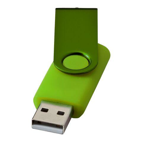 Rotate Metallic 2 GB USB-Stick limettengrün | ohne Werbeanbringung | Nicht verfügbar | Nicht verfügbar | Nicht verfügbar