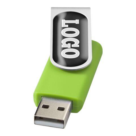 Rotate Doming 2 GB USB-Stick limettengrün-silber | 2 GB | ohne Werbeanbringung | Nicht verfügbar | Nicht verfügbar | Nicht verfügbar