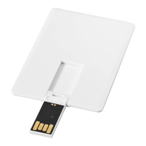 Slim 2 GB USB-Stick im Kreditkartenformat Standard | weiss | ohne Werbeanbringung | Nicht verfügbar | Nicht verfügbar