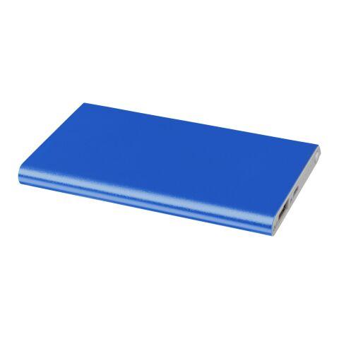 Pep 4000 Aluminium Powerbank Standard | royalblau | ohne Werbeanbringung | Nicht verfügbar | Nicht verfügbar