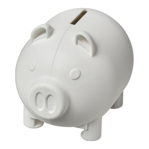 Oink kleines Sparschwein Weiß   ohne Werbeanbringung   Nicht verfügbar   Nicht verfügbar