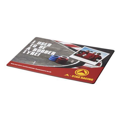 Brite-Mat® Mauspad mit Reifenmaterial schwarz | ohne Werbeanbringung | Nicht verfügbar | Nicht verfügbar