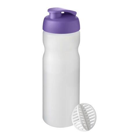 Baseline Plus 650 ml Shakerflasche lila-weiß | ohne Werbeanbringung | Nicht verfügbar | Nicht verfügbar