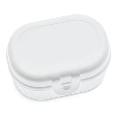 koziol Lunchbox PASCAL MINI weiß | ohne Werbeanbringung