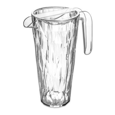 koziol Superglas Kanne 1,5l CLUB transparent | Nicht verfügbar | ohne Werbeanbringung | ohne Werbeanbringung