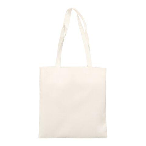 Bambus-Tasche 38x42 cm lange Henkel beige   ohne Werbeanbringung   ohne Werbeanbringung