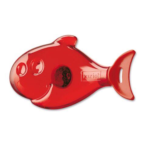 koziol Heizungs-Entlüftungsschlüssel FINN transparent-rot   ohne Werbeanbringung