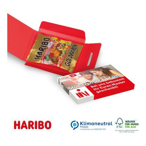 Fruchtgummi-Briefchen ohne Werbeanbringung