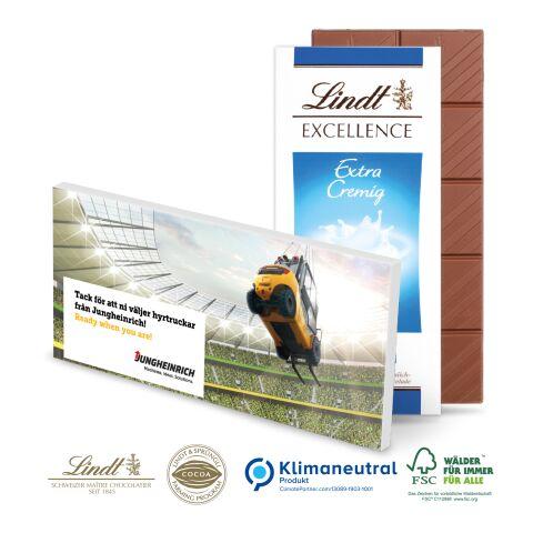 Schokoladentafel Excellence von Lindt & Sprüngli ohne Werbeanbringung