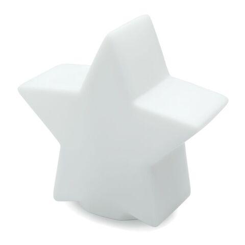 Sternlicht mit Farbwechsel weiß   1-farbiger Tampondruck   Rückseite   35 mm x 15 mm