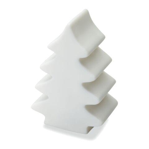 Weihnachtsbaumlicht weiß | 1-farbiger Tampondruck | Rückseite | 15 mm x 40 mm