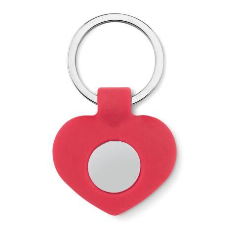 Schlüsselring mit Herzanhänger