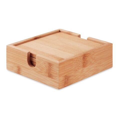 Untersetzer-Set Bambus