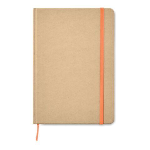 DIN A5 Notizbuch recycelt