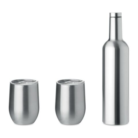 Set mit Flasche und Bechern