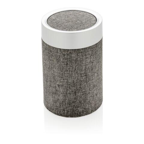 Vogue runder Lautsprecher grau-grau | ohne Werbeanbringung | Nicht verfügbar | Nicht verfügbar