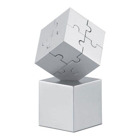 3D-Puzzle mattsilber | ohne Werbeanbringung | Nicht verfügbar | Nicht verfügbar