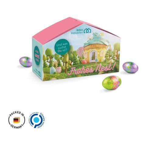 Haus Präsent Ostern weiß | 4C-Digitaldruck