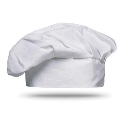 Kochmütze aus Baumwolle weiß   ohne Werbeanbringung   Nicht verfügbar   Nicht verfügbar   Nicht verfügbar