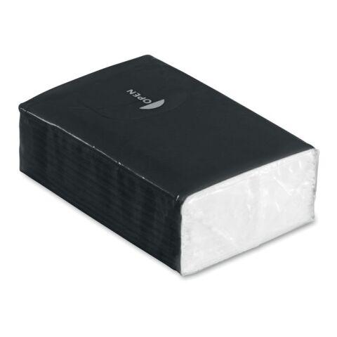Papiertaschentücher schwarz | ohne Werbeanbringung | Nicht verfügbar | Nicht verfügbar