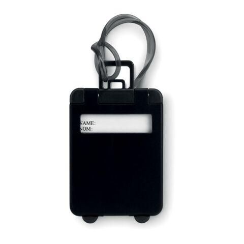 Kofferanhänger schwarz | ohne Werbeanbringung | Nicht verfügbar | Nicht verfügbar