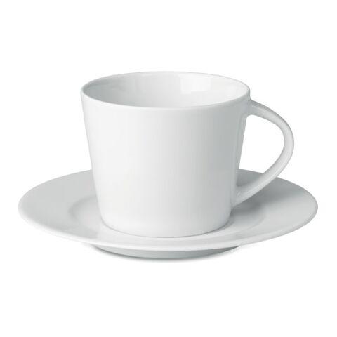 Cappuccino Tasse und Untertasse