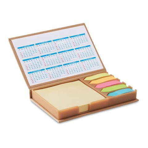 Notizzettelhalter mit Kalender