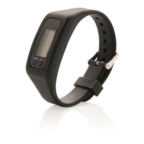 Schrittzähler Armband schwarz | ohne Werbeanbringung | Nicht verfügbar | Nicht verfügbar