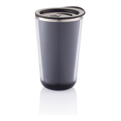 Dia Reisebecher schwarz | 1-farbiger Tampondruck | Artikel Vorderseite Mitte | 25 mm x 80 mm | Nicht verfügbar