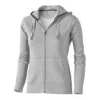 Arora Damen-Pullover mit Kapuze und durchgehendem Reißverschluss