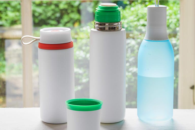 Trinkflaschen in einzigartigem Design bei allbranded