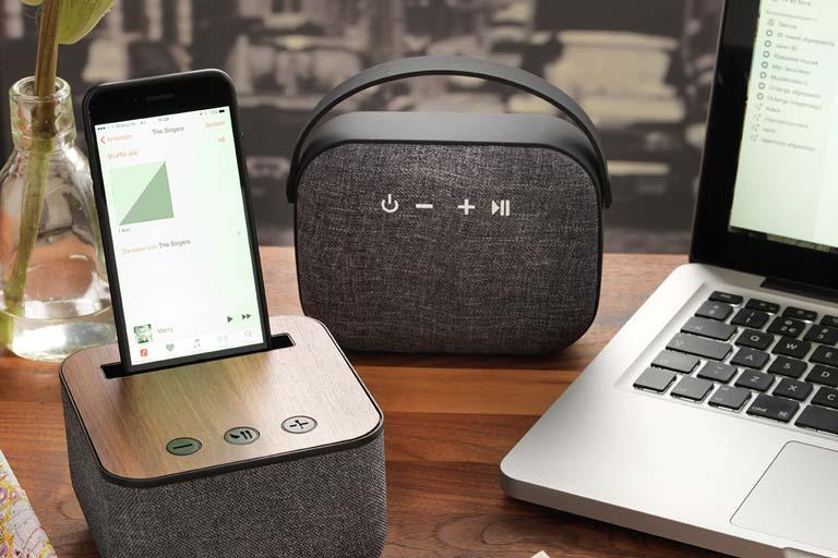 Bluetooth Lautsprecher als cooles Kundengeschenk