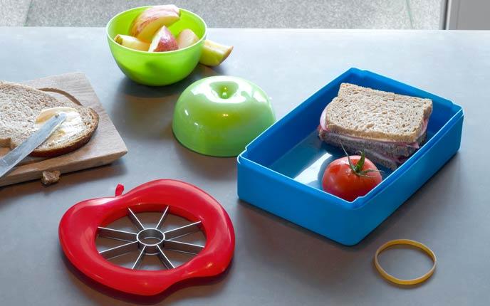 Brotdosen und Lunchboxen als Zubehör