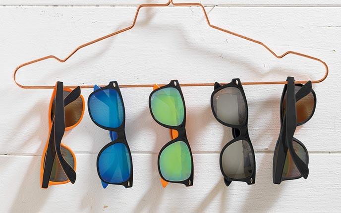 Bunte Sonnenbrillen bedrucken