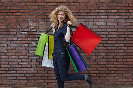 Shopping Bags mit Flexodruck